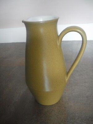 DENBY ODE JUG - APPROX - 1-1/2 pints approx 8 inches tall