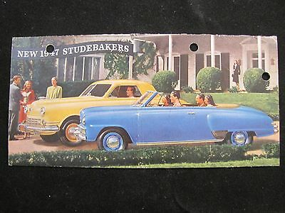 1947 Studebaker Commander And Champion Original Sales Brochure