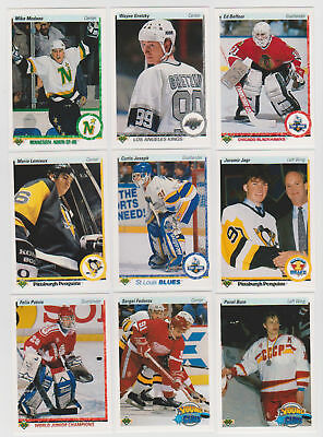 1990-91 Upper Deck Low Series Hockey Cards (201-400) -  Pick From List