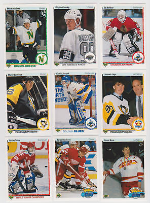 1990-91 Upper Deck High Series Hockey Cards (401-550) -  Pick From List