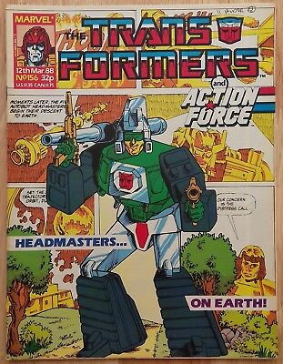 UK Transformers Comic Issue 156