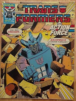 UK Transformers Comic Issue 173