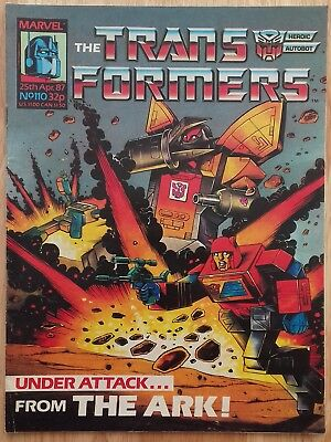 UK Transformers Comic Issue 110