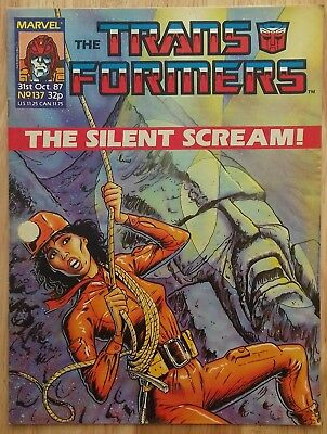 UK Transformers Comic Issue 137