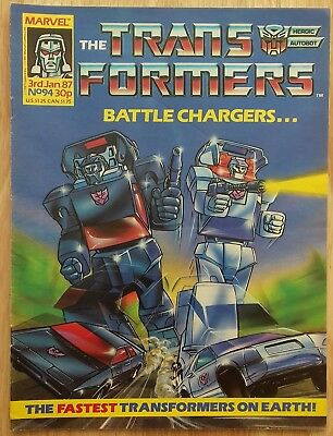 UK Transformers Comic Issue 94