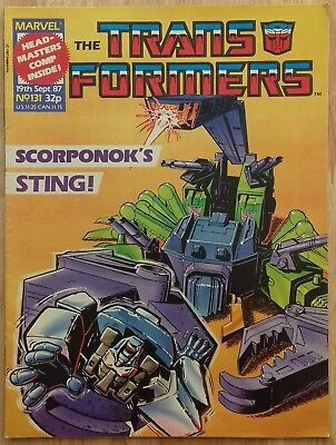 UK Transformers Comic Issue 131