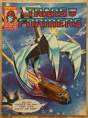 UK Transformers Comic Issue 143