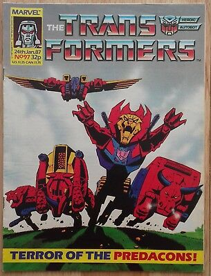 UK Transformers Comic Issue 97