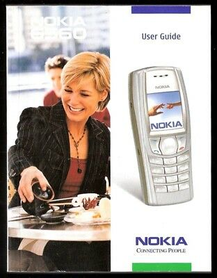 2002 NOKIA 6560 Cell Phone Manual, User Guide