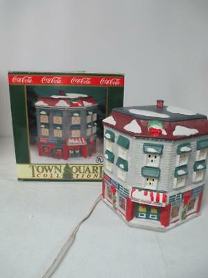Coca Cola Town Square Collectibles Lighted Taylor & Sons Emporium 1993