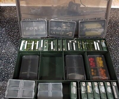 Fox tackle box and accessories