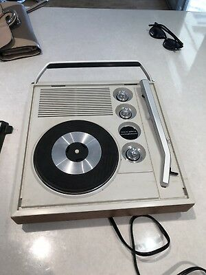 Rambler Solid State AC/DC MONO Record Player 1960s - WORKING