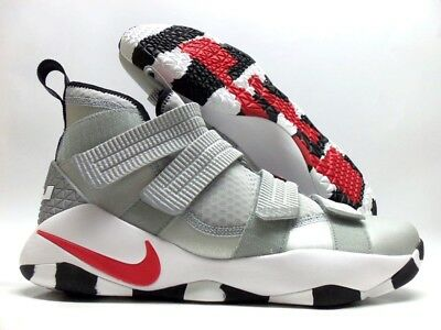 buy online a2580 6b7ec Nike Lebron Soldier Xi Sfg Silver Bullet Silver red Size Men s 12  897646-