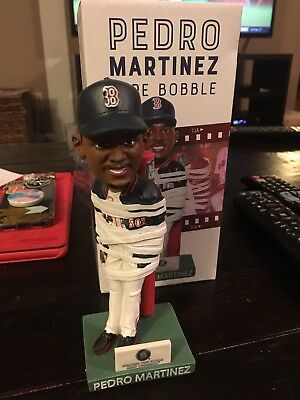 Pedro Martinez Boston Red Sox tape bobblehead bobble head RARE UNOPENED SGA 2018