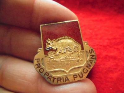 Sterling WWII 629th Tank Destroyer Battalion DUI DI Crest pin