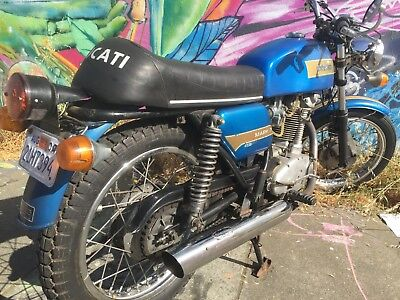 1974 Ducati Other  1974 Ducati 450 Mark 3 only 2600 miles titled and reg'd in CA