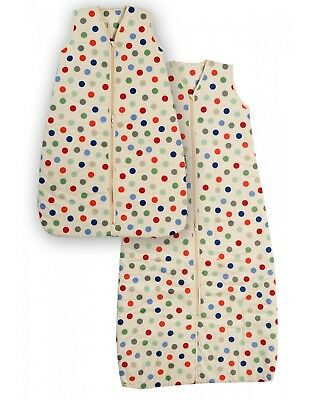 Slumbersac Bubble Dot Baby Sleeping Bag (Brand New) - 0-6 months 1.0 Tog