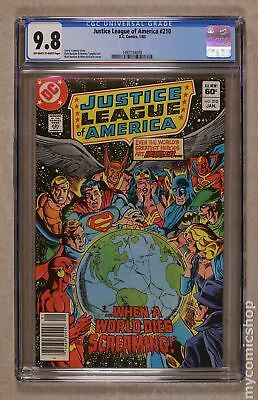 Justice League of America (1st Series) #210 1983 CGC 9.8 1497134009