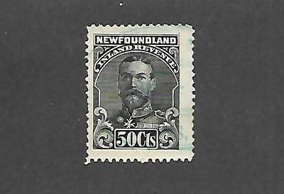 Canada Province Of Newfoundland Stamp #nfr24 (Used) From 1910