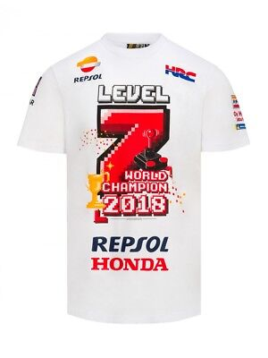 Marc Marquez 2018 Motogp World Champion Level 7 Limited Edition T'Shirt