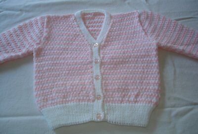 Hand Knitted Cardigan for Baby, approx 6 months