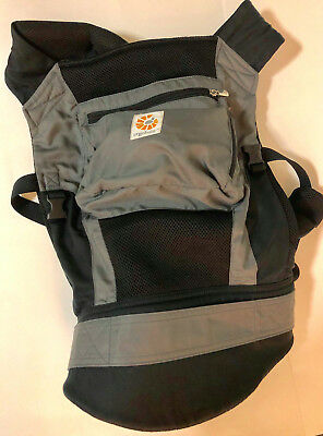 b6e2268f2c4 Ergobaby Original Cool Air Mesh Performance Multi Position Baby Carrier Grey