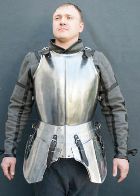 Steel cuirass SCA LARP medieval armor body armor medieval cuirass fantasy cuiras