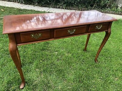 Antique Timber Hall Table Side Table