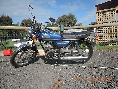 YAMAHA RD125 A 1974 great little 125 Twin 2 stroke, Rides great, AS3