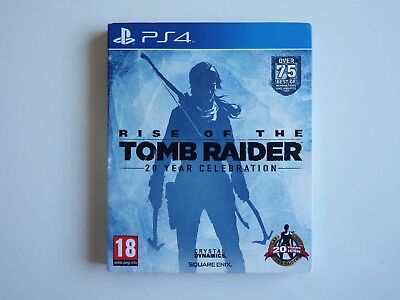 Rise of the Tomb Raider: 20 Year Anniversary on PS4 in MINT Condition