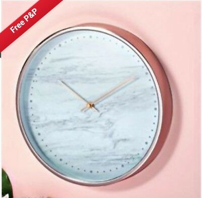 Avon Rose Gold and Marble clock - BNIB - lovely gift - wall clock