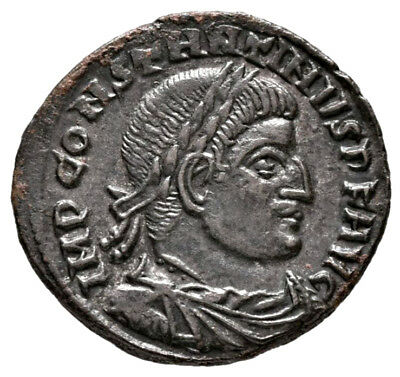 CONSTANTINE THE GREAT (315 AD) AE Follis, Rome Sol #MA 739