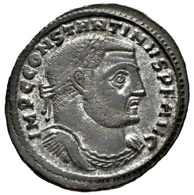 CONSTANTINE THE GREAT (312 AD) AE Follis, Thessalonica #MA 740