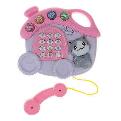 Kids Musical Telephone Study Phone Interactive Educational Baby Creative Toy