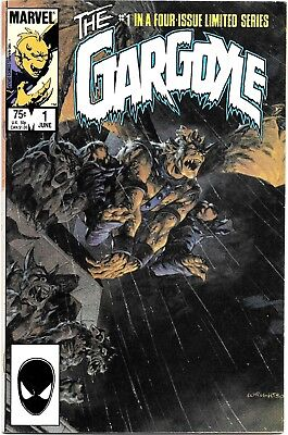 1985 The Gargoyle VF Complete Set of Four-Issue Limited Series