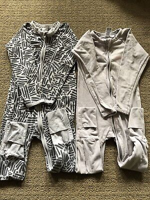 2 X Size 18-24 Months (size 2) Bonds Onsies