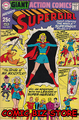 Action Comics #373 (1969) Silver Age Dc 1St Printing 80 Page Giant #57 Vfn- 7.5