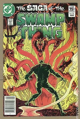 Swamp Thing (2nd Series) Canadian Price Variant #13 1983 VF 8.0