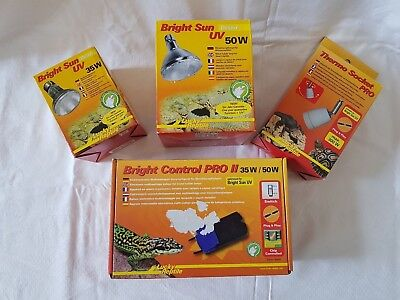Lucky Reptile Bright Sun SUPER-SET 35/50 Dessert -Umschaltbar-