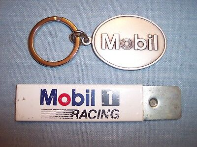 Mobil 1 Racing Utility Jiffy Knife Cutter Gas Metal Key Chain OIL ADVERTISING