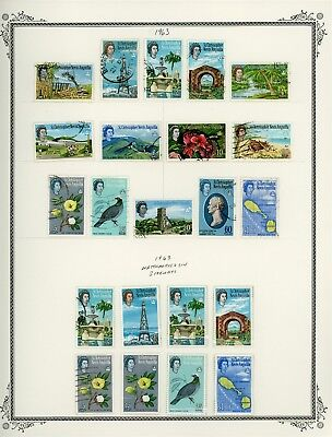 ST KITTS & NEVIS Album Page Lot #SPEC11 - SEE SCAN - $$$