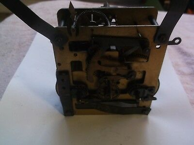MECHANISM  FROM AN OLD  MANTLE CLOCK working order ref DA 5