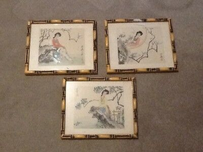 silk hand painted pictures from hong kong