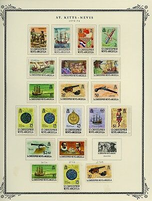 ST KITTS & NEVIS Album Page Lot #SPEC16 - SEE SCAN - $$$