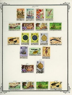 ST KITTS & NEVIS Album Page Lot #SPEC17 - SEE SCAN - $$$
