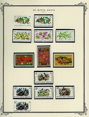 ST KITTS & NEVIS Album Page Lot #SPEC19 - SEE SCAN - $$$