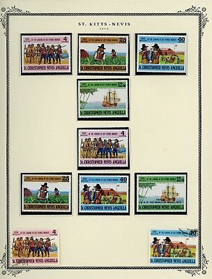 ST KITTS & NEVIS Album Page Lot #SPEC21 - SEE SCAN - $$$