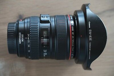 Canon EF 24-105 mm f/4,0 L IS USM, sehr guter Zustand