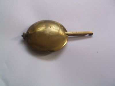 A PENDULUM FROM AN OLD  MANTEL CLOCK  152 g REF D33