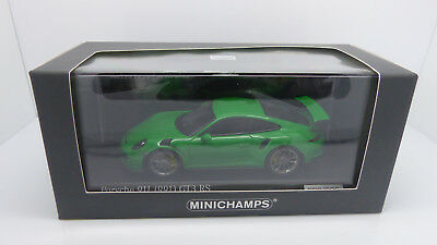 Minichamps Ca04316043 Official Porsche 911 (991) Gt3 Rs Viper Green 026/200 Mib